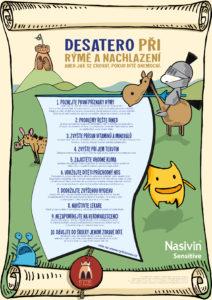 poster_desatero_pri_ryme_a_nachlazeni